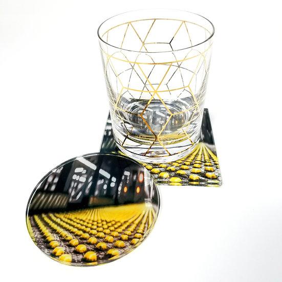 Acrylic Coaster - Late