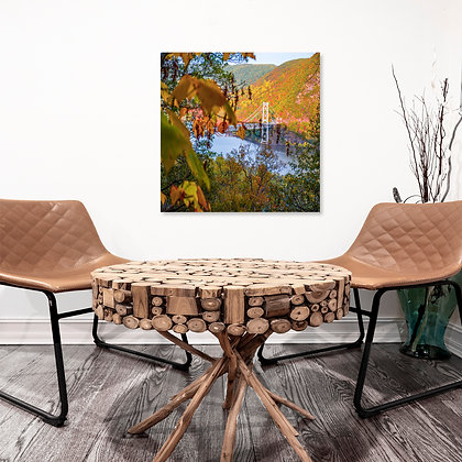 Square Wall Art - Bear Mountain In Autumn
