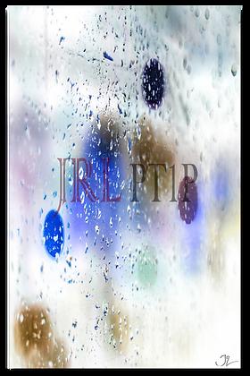 Portrait Wall Art - Rain Has Color