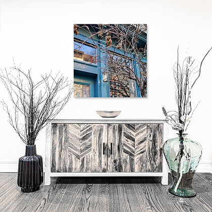 Square Wall Art - Storefront Branches - Art
