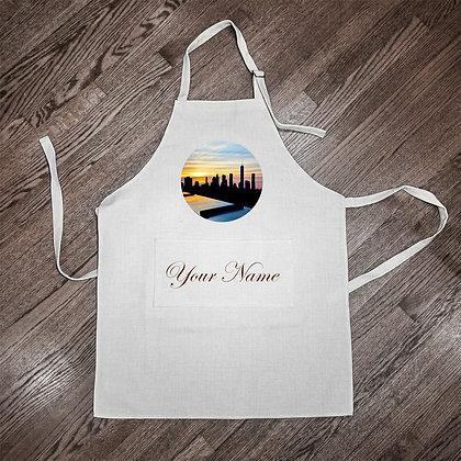 Custom Apron - NYC Skyline I