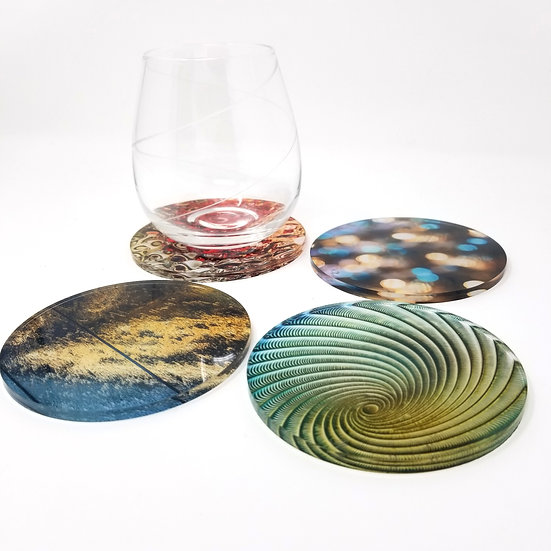 Variety Acrylic Coaster Set - Abstract