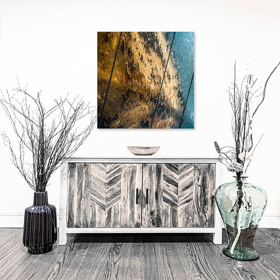 Wall of Frozen Water | Square Art