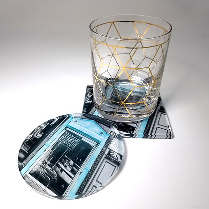 Acrylic Coaster - Hello Brooklyn