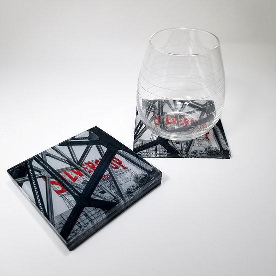 Acrylic Coaster - Silver Cup