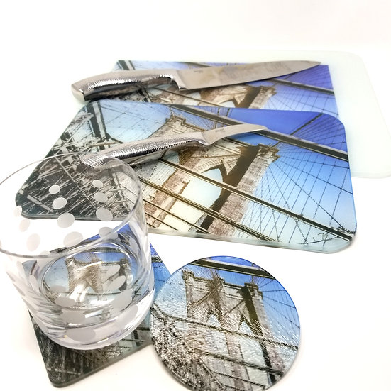 Kitchen/Dining Tabletop  Set - Brooklyn Bridge I