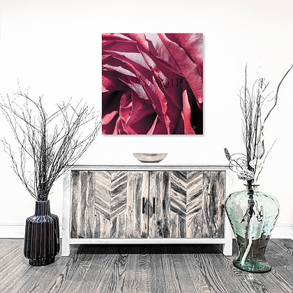 Square Wall Art - A Flower Named Rose