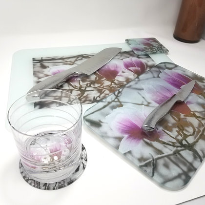 Kitchen/Dining Tabletop  Set - Magnolia Tree
