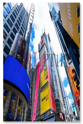 Portrait Wall Art - Time Square