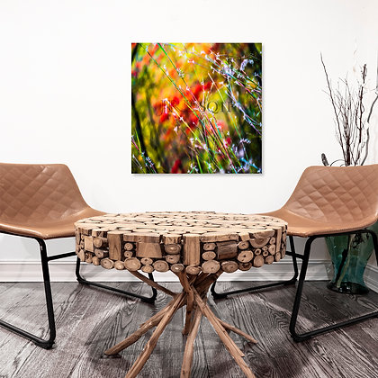 Square Wall Art - Fall Cotton