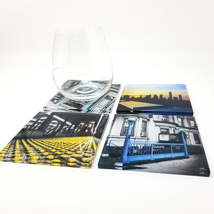 Variety Acrylic Coaster Set - NYC