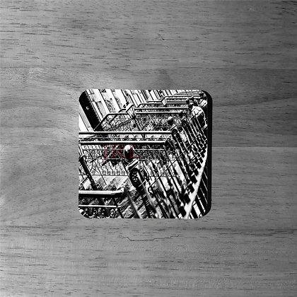Brownstone Steel - Cork Coasters
