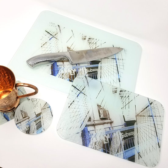 Kitchen/Dining Tabletop  Set - Brooklyn Bridge Inception I