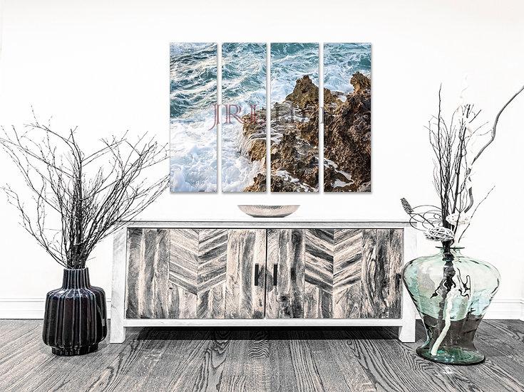 Aqua Shores   Landscape Art