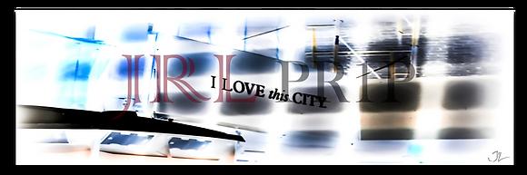 Panoramic Wall Art - City Of Love