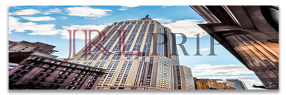 Panoramic Wall Art - Empire State Building II