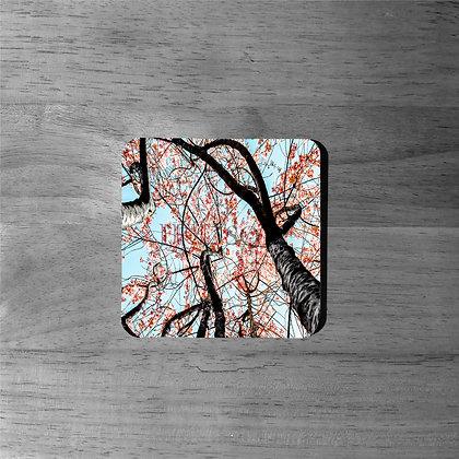 Cherry Blossom Tree - Cork Coasters