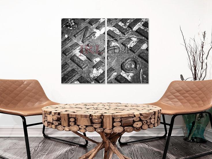 NYC Rust (BW) | Landscape Art