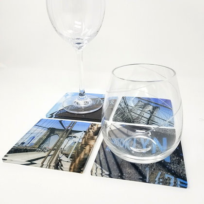 Variety Acrylic Coaster Set - Touch of Brooklyn