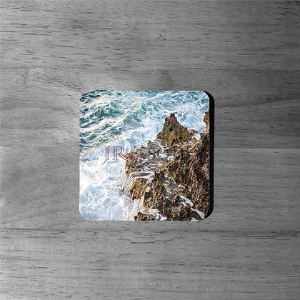 Bahamas' Aqua Shores - Cork Coasters