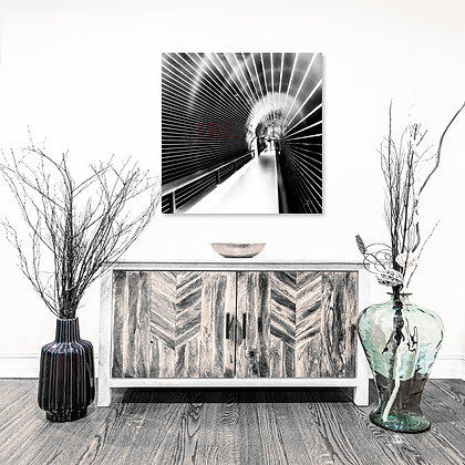 Square Wall Art - Tunnel Vision