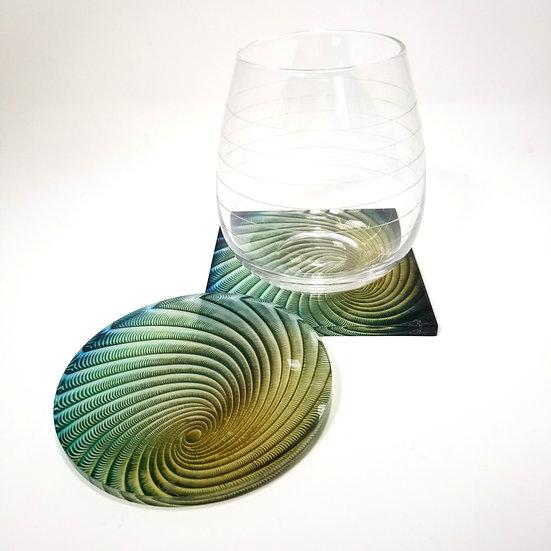 Acrylic Coaster - Eye of The Storm