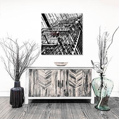 Brownstone Steel - Art Subscription (LG)