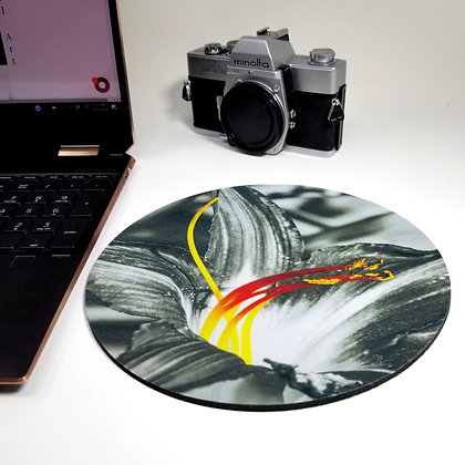 Mouse Pad - Fire Flower
