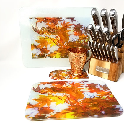 Kitchen/Dining Tabletop  Set - Fall During Summer