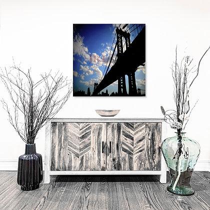 Square Wall Art - Manhattan Bridge I
