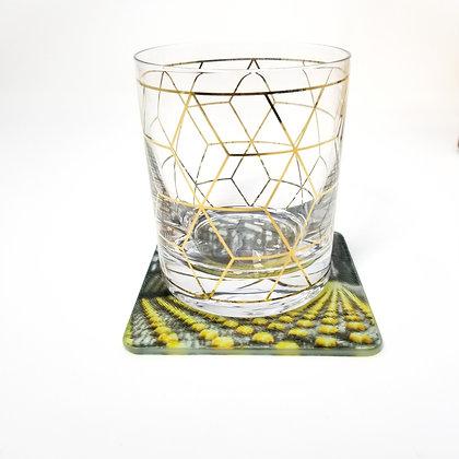 Glass Coaster - Late