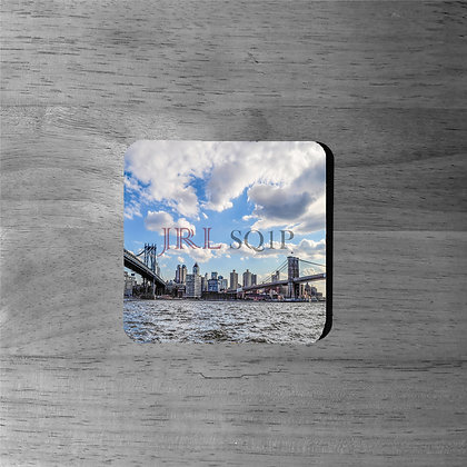 East River Views - Cork Coasters