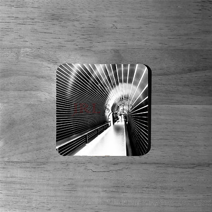 Tunnel Vision - Cork Coasters