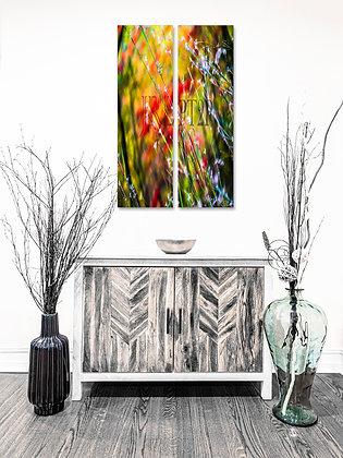 Portrait Wall Art - Fall Cotton