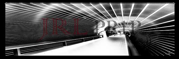 Panoramic Wall Art - Tunnel Vision