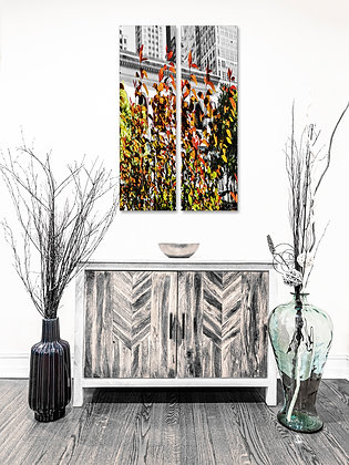 Portrait Wall Art - Autumn Branches