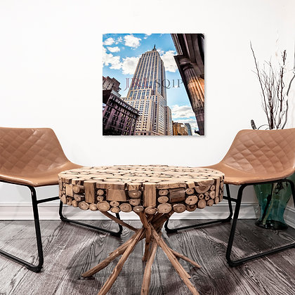 Square Wall Art - Empire State Building II