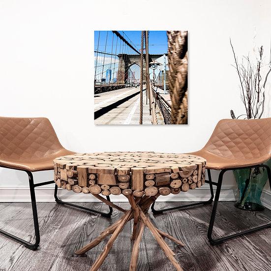 Brooklyn Bridge III   Square Art