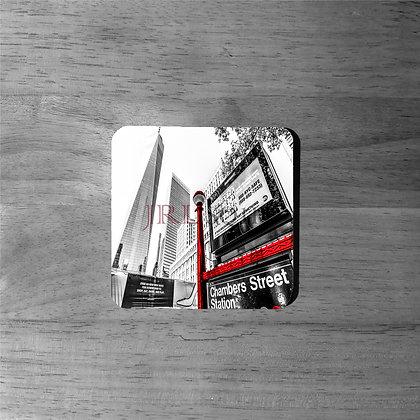 Freedom Tower II - Cork Coasters