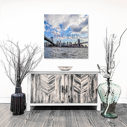 Square Wall Art - East River Views