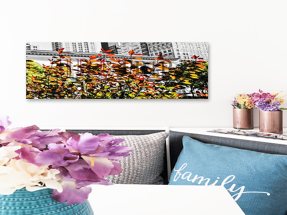 Panoramic Wall Art - Autumn Branches