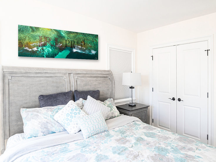 Emerald Coast   Panoramic Art