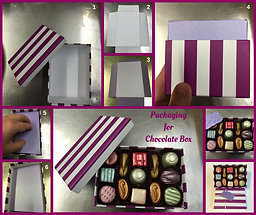Deco Magic Packaging for Chocolate Box