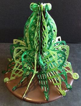 Deco Magic Filigree Christmas Tree