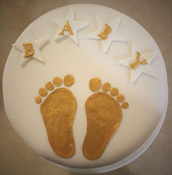 Deco Magic Baby Shower Cake