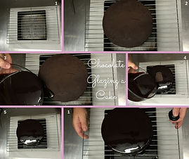 Deco Magic Chocolate Glazing a Cake