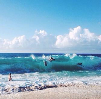 Правила безопасности в океане для серферов