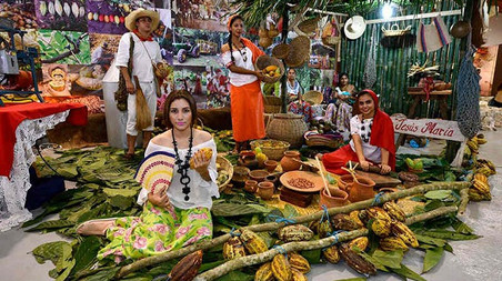 Festival del chocolate en Tabasco