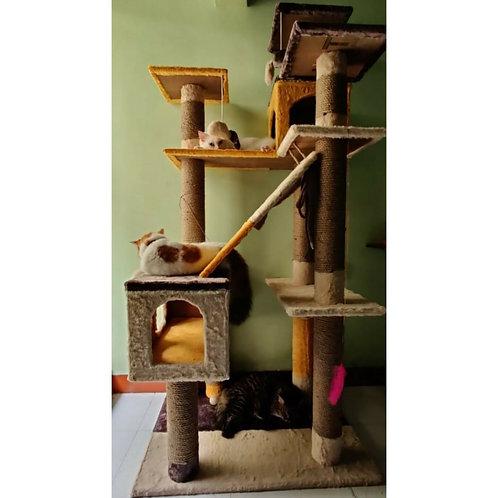 Marshmellow Cat Tower Condo Scratcher