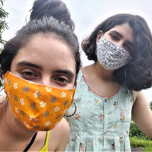 Cotton Masks Grameen Vikas (Set of 3)